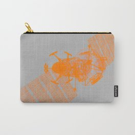 Explorer Orange and Grey Carry-All Pouch