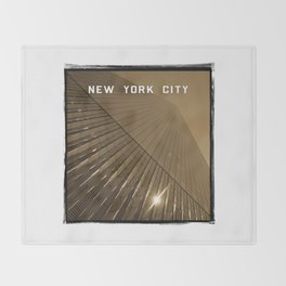 World Trade Center Reborn - New York City Throw Blanket