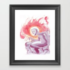 Somewhere in Space Framed Art Print