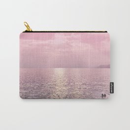 Kiss In The Lake At Sunset Carry-All Pouch
