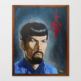 Mirror Mirror Spock Canvas Print