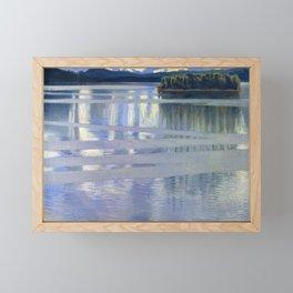 Akseli Gallen-Kallela - Lake Keitele - Digital Remastered Edition Framed Mini Art Print