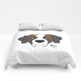 St Bernard Face Comforters