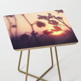 Garden Sunset Side Table