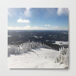 Snowy Horizon #2 Metal Print