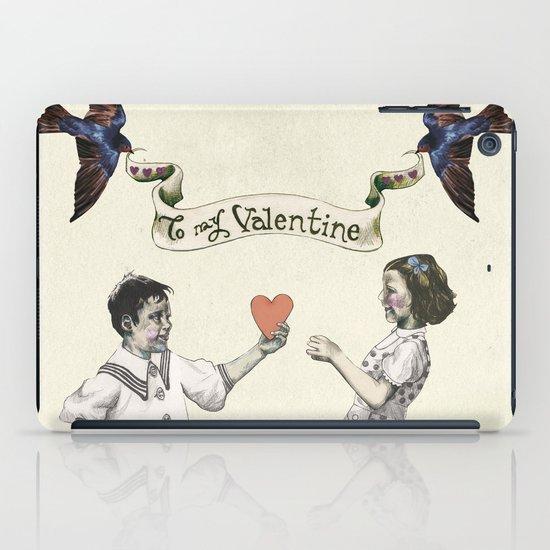 To My Valentine iPad Case