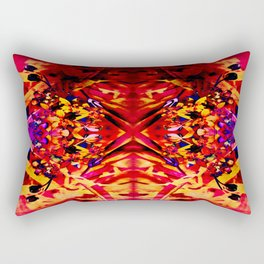 Psychedelic Love Affair Rectangular Pillow
