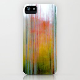 Autumn Abstract #8 iPhone Case