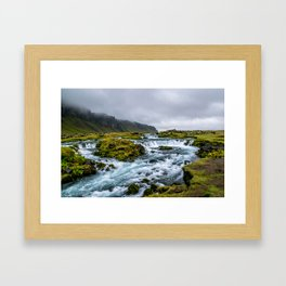 Roadside Retreat Framed Art Print