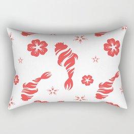 Beautiful Fish Pattern Rectangular Pillow