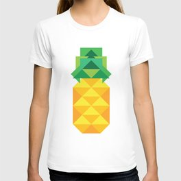 geometric pineapple T-shirt