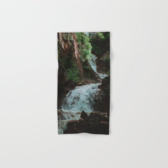 Alaska Waterfall Hand & Bath Towel