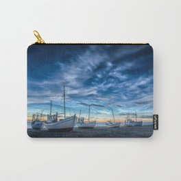 Sleeping Boats Carry-All Pouch