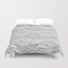 Serpentines Duvet Cover