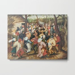The Wedding Dance Metal Print