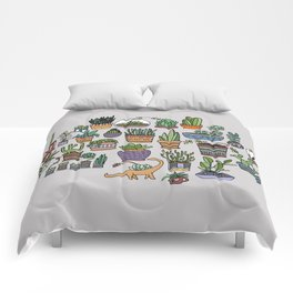 Succulent Party Comforters