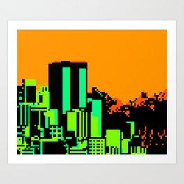 03ZXBITCRUNCH Art Print