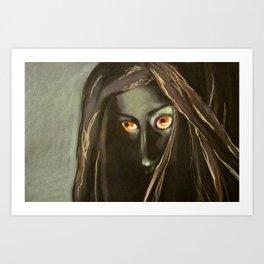 Tahwaan MonsterPortrait Art Print