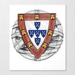 Old School Crest (Updated) Canvas Print
