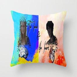 Bellarke Throw Pillow