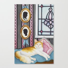 """Beloved Cat I"" Canvas Print"