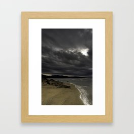 Slithers of light Framed Art Print