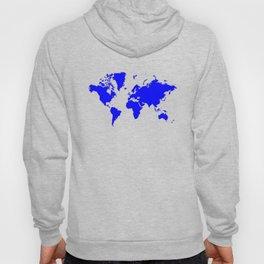 World with no Borders - true gray Hoody
