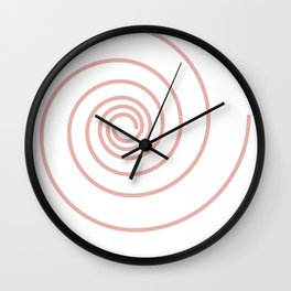 Swirls Wall Clock