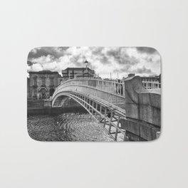 Ha'Penny Bridge in Dublin Bath Mat