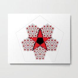 Star2. Metal Print