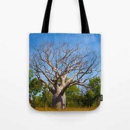 Beautiful Blue Boab Tote Bag