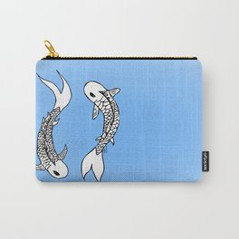 Koi Yin-Yang (V1) Carry-All Pouch