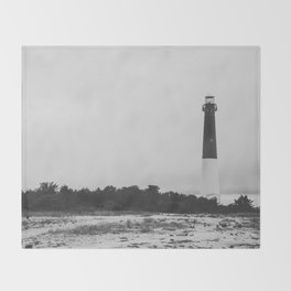 Guide Me to Shore Throw Blanket