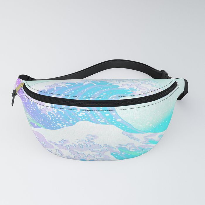 The Great Wave Unicorn Fanny Pack
