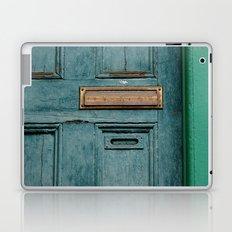 Blue Door Laptop & iPad Skin