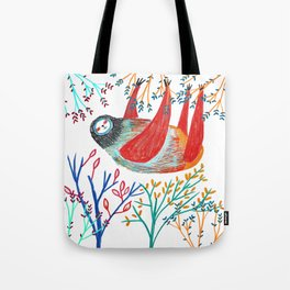 sloth life Tote Bag