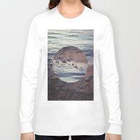 circle Long Sleeve T-shirts featuring CIRCLE by Julia Yusupov
