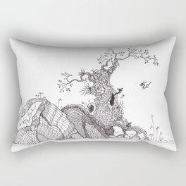 Tiny dragons tree nest Rectangular Pillow
