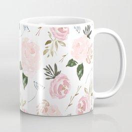 Floral Blossom - Muted Pink Coffee Mug