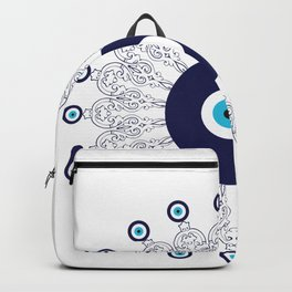 Evil Eye Mandala Backpack