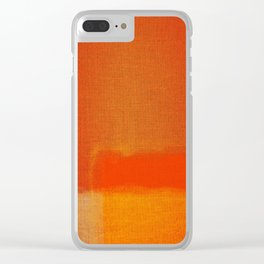 Art contemporary abstract Clear iPhone Case