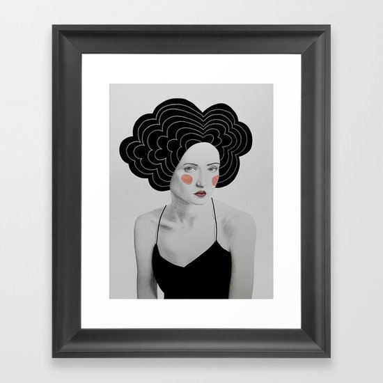 Minerva Framed Art Print