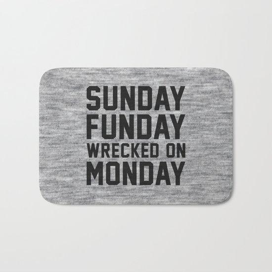Sunday Funday Bath Mat