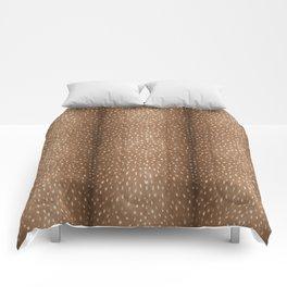 Deer Hide Comforters