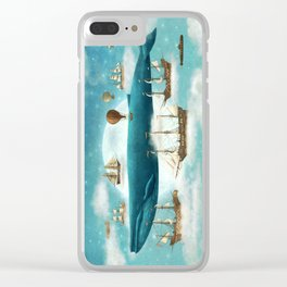 Ocean Meets Sky - revised Clear iPhone Case