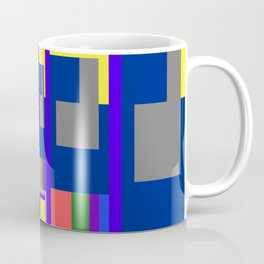 Mid-20th Century Abstraction, Hall of Mirrors Coffee Mug