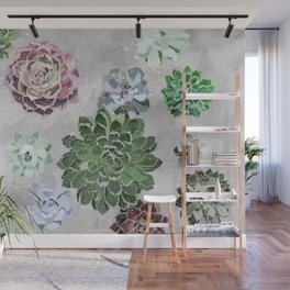 Simple succulents Wall Mural