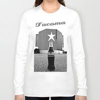 coke Long Sleeve T-shirts featuring Star-Lite Coke by Vorona Photography
