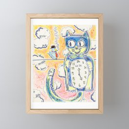 Grab Me While We Still Have The Time Framed Mini Art Print