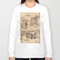 lovecraft Long Sleeve T-shirts featuring Lovecraft Series:  Shoggoth by Furry Turtle Creations